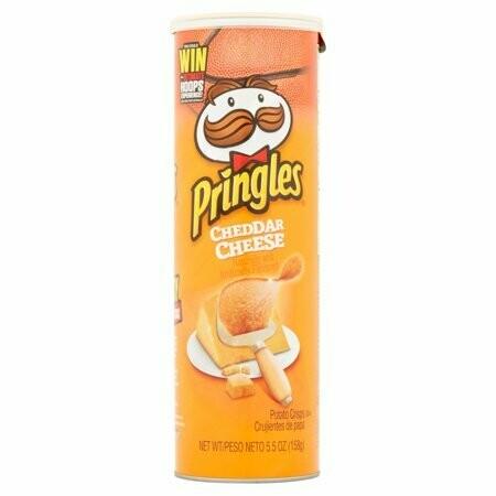 Pringles Cheddar Cheese 158gr