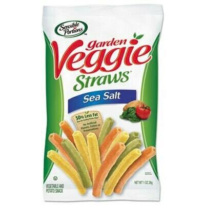 Garden Veggie Straws Sea Salt 28gr