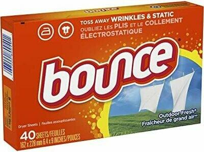 Bounce Hojas con Aroma para Secado de Ropa 40 Hojas