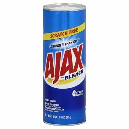 Ajax Limpiador con Cloro Multiusos Stronger Than Dirt 595gr (21oz)