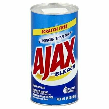 Ajax Limpiador con Cloro Multiusos Stronger Than Dirt 396gr