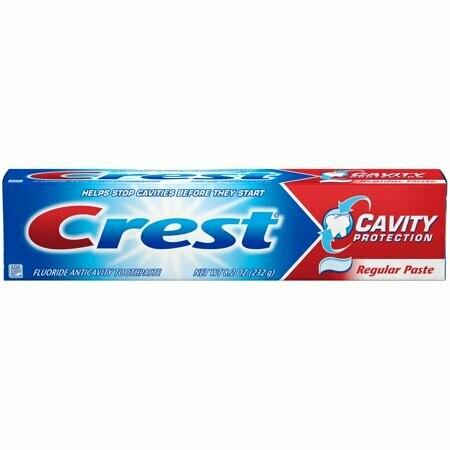 Pasta Dental Crest Regular Proteccion de Cavidades 232gr