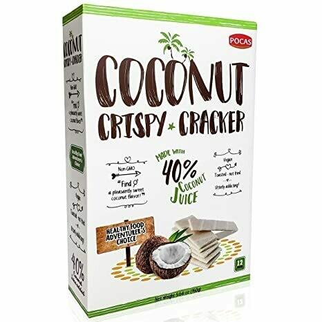 Galletas Pocas Coconut Crispy Cracker 12 uniddaes