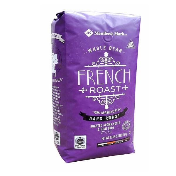Cafe en Grano Member's Mark Frech Toast Arabica Coffee 1.13Kg