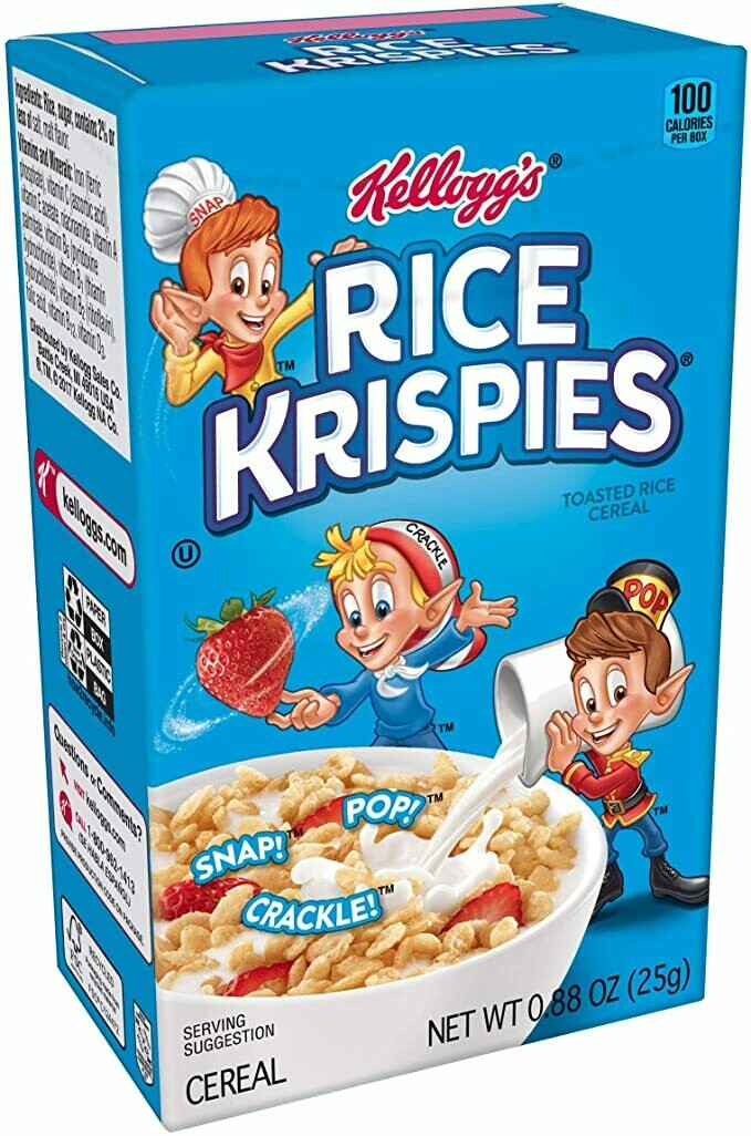 Kelloggs Rice Krispies Mini 25gr  3Pack
