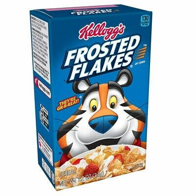 Kelloggs Frosted Flakes Mini 34gr  3Pack