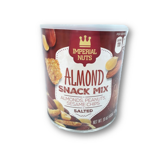 Imperial Nuts Almond Snack Mix 425gr