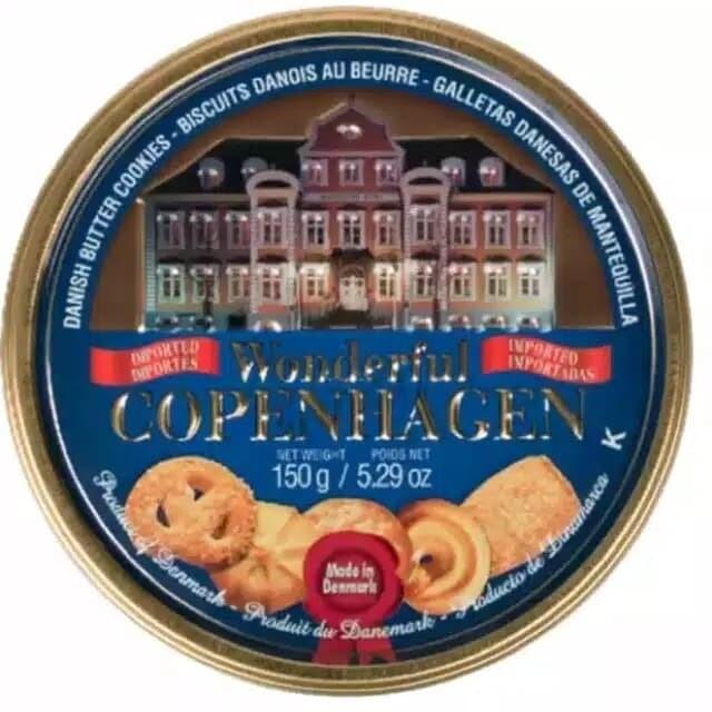 Galletas Jacob Wonderful Copenhagen Danish PButter Cookies 150gr