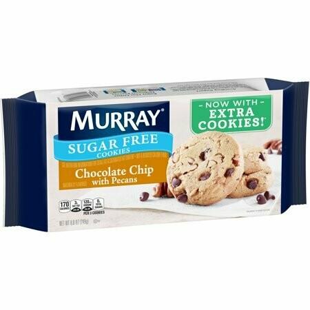 Murray Sugar Galletas Chocolate Chip con Pecans Sin Azucar 249gr