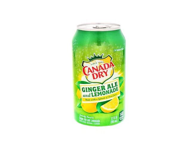 Canada Dry Ginger Ale & Lemonade 355ml