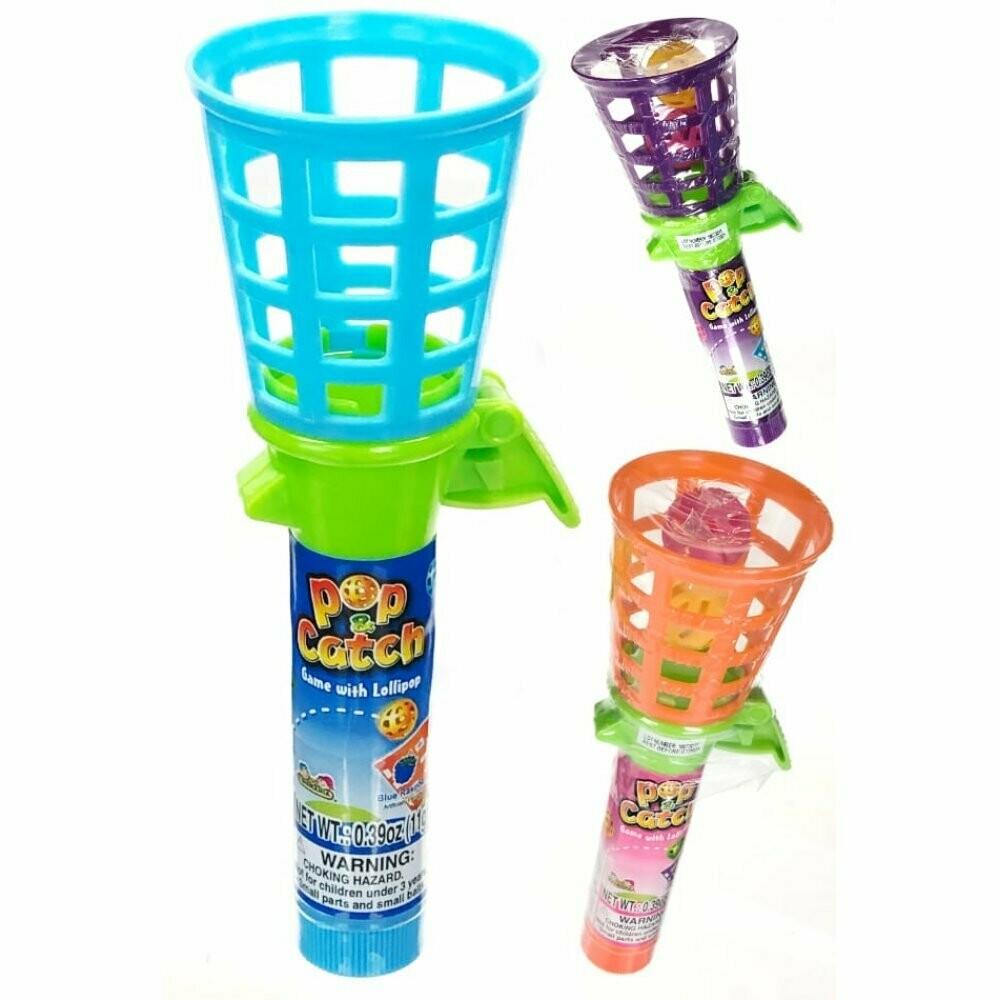 Kids Pop & Catch Game with Lollipop 11gr