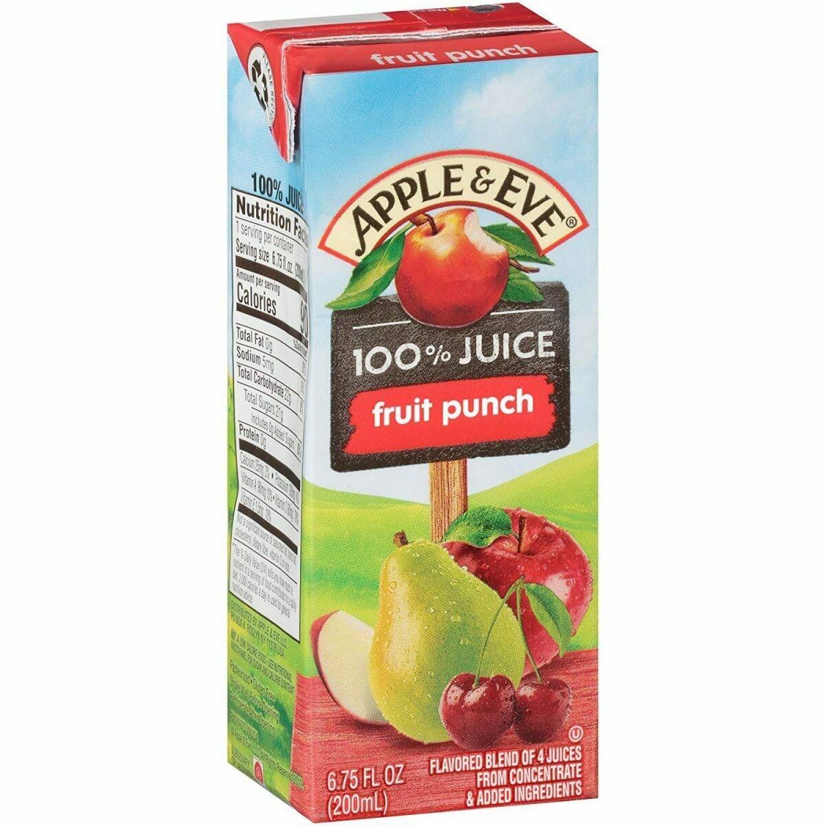 Jugo de Manzana Pnche de Frutas - Apple Juice Fruit Punch 200ml