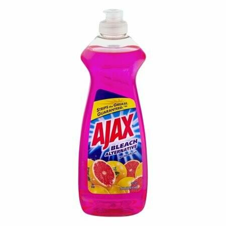 Lavaplatos Liquido Ultra Ajax Bleach Alternative Toronja 414ml
