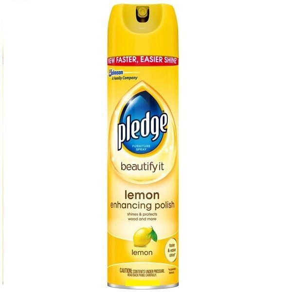 Limpiador para Pulir Muebles Pledge Aroma Limon 403gr