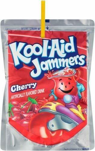 Jugo de Cereza Kool-Aid Jammers Cherry 5Pack