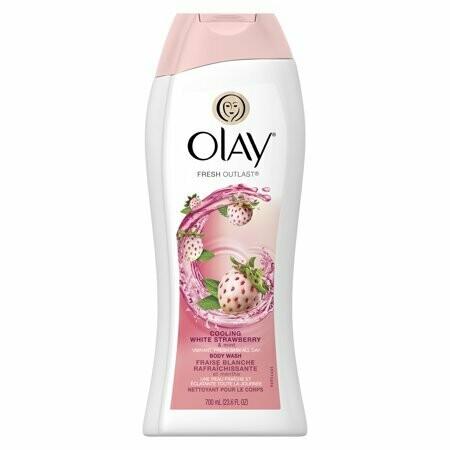 Olay Body Wash Liquido Sedoso Strawberry & Mint 700ml