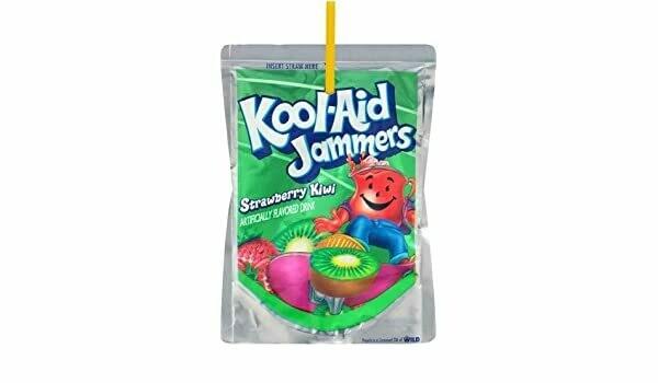 Jugo de Fresa/ Kiwi Kool-Aid Jammers Strawberry/ Kiwi 5Pack