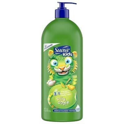 3 en 1 Shampoo + Acondicionador + Body Wash Suave Kids 1.18L