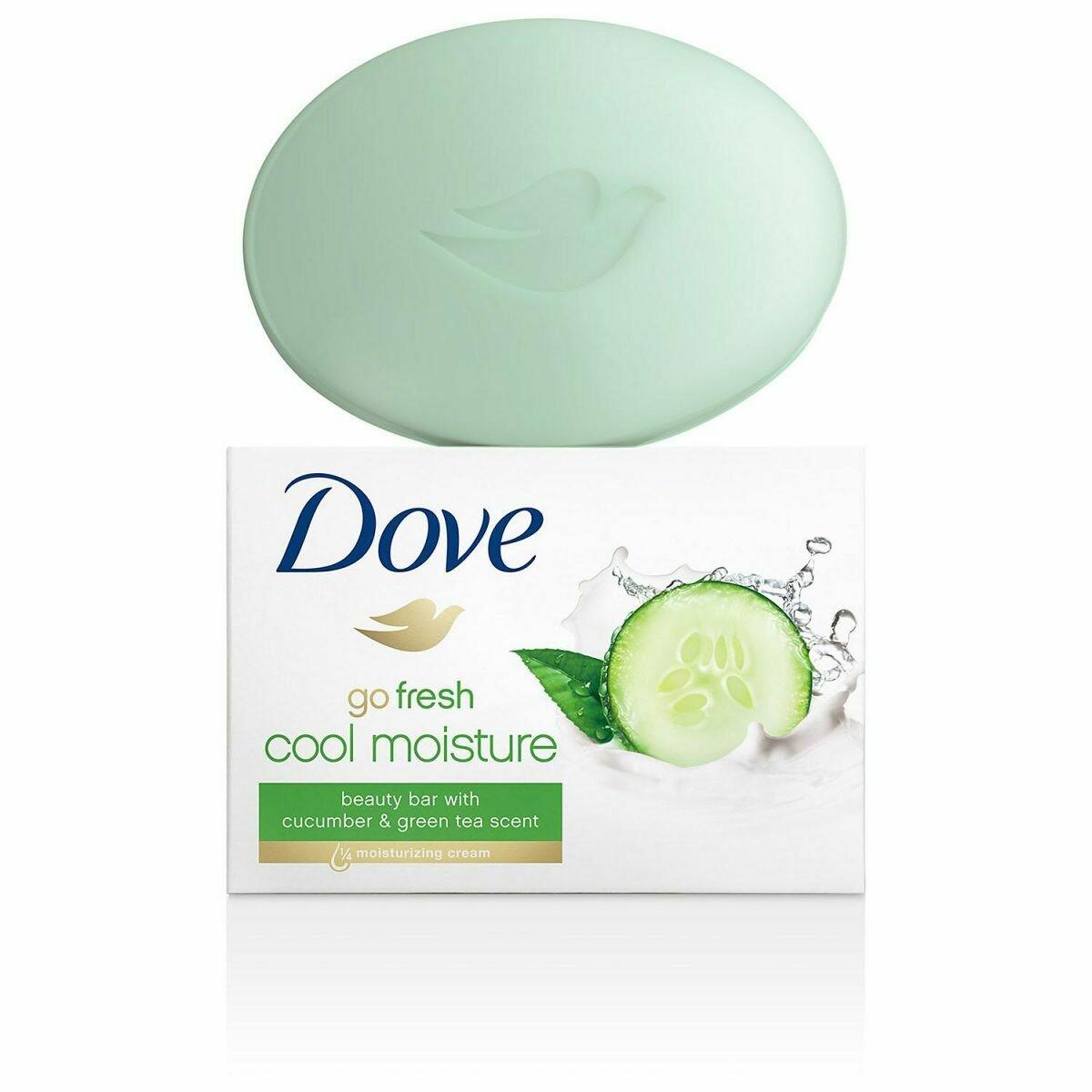 Jabon Dove Go Fresh 106gr  2Pack