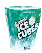 Ice Breakers Ice Cubes Wintergreen Many