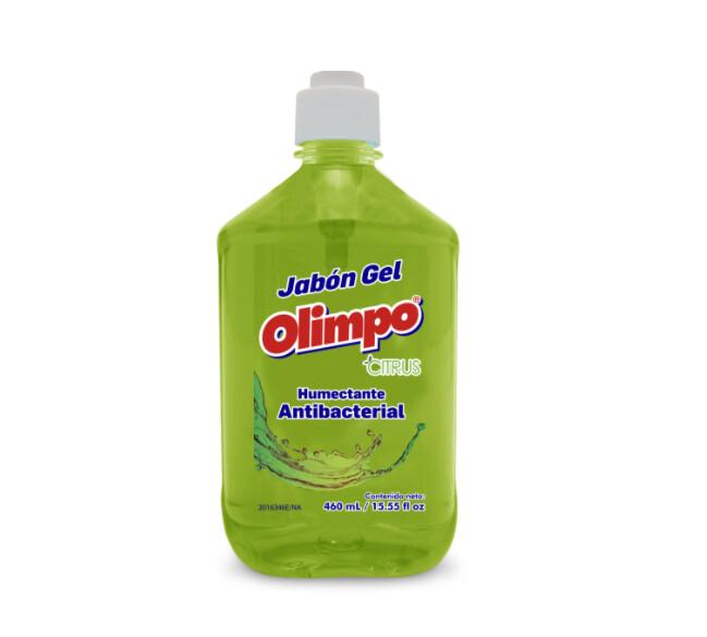 Jabon Liquido Antibacterial Olimpo Citrus 460ml