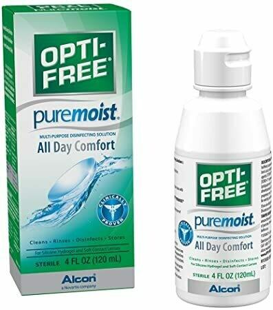 Liquido para Lentes de Contacto Opti-Free Pure Moist 120ml
