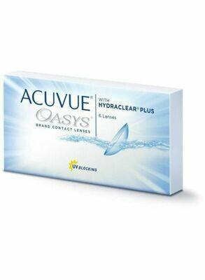 Lentes de Contacto Acuvue Oasys 6 Lentes Negativo -2.25
