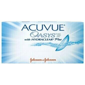 Lentes de Contacto Acuvue Oasys 6 Lentes Negativo -3.50