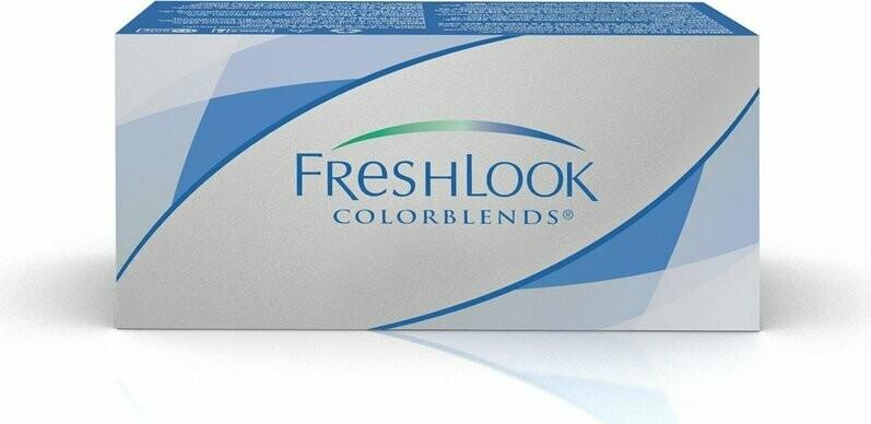 Lentes de Contacto Freshlook Colorblends Honey Negativo -0.00