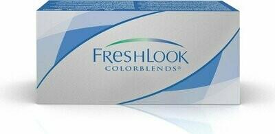 Lentes de Contacto Freshlook Colorblends Blue Negativo -0.00