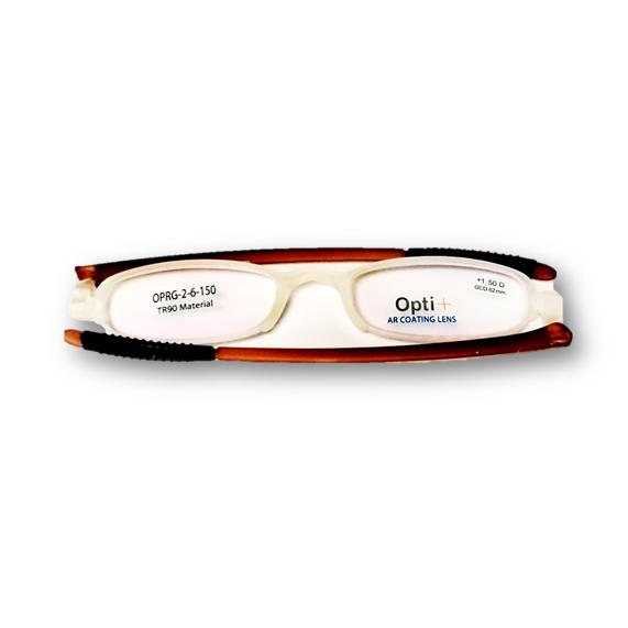 Lentes de Lectura Opti + OPRG -2-6-150Brown Power:+1.50D