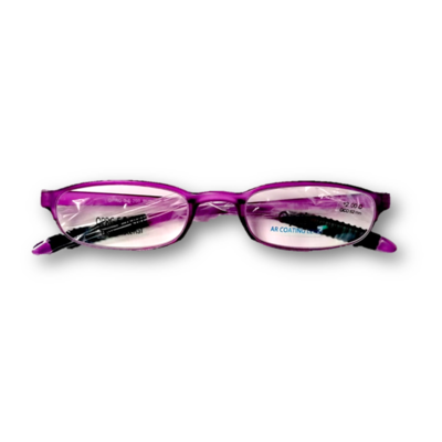 Lentes de Lectura Opti + OPRG 5-2-200 PURPLE FULL RIM  POWER: +200