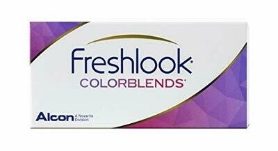 Lentes de Contacto Freshlook Colorblends Gray Negativo -0.00