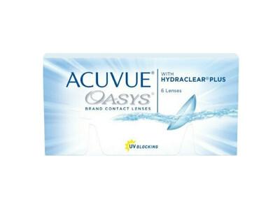 Lentes de Contacto Acuvue Oasys 6 Lentes Negativo -1.00