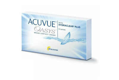 Lentes de Contacto Acuvue Oasys 6 Lentes Negativo -1.25