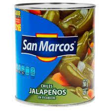Chiles Jalapeño en Escabeche San Marcos 780grs