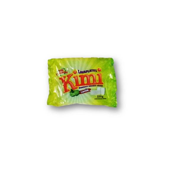 Lavaplatos Kimi en Barra Aroma Limon 225gr