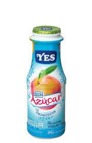 Yogurt YES Liquido Melocoton Light sin azucar 200ml