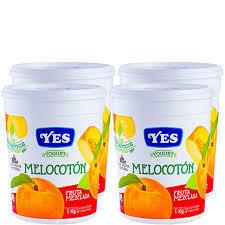 Yogurt YES Melocoton 1 kg