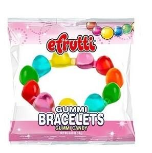 Efrutti Gummi Bracelets Candy 5Pack