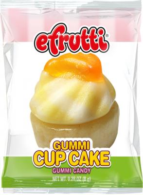 Efrutti Gummi Cup Cake 8gr  10Pack