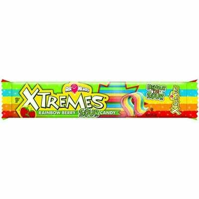 Airheads Xtremes Rainbow Berry Candy Sour 57gr  2Pack