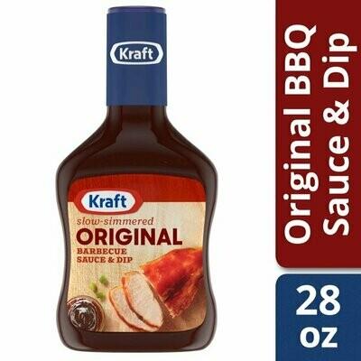 Salsa Barbacoa Kraft Orginal 28 onzas