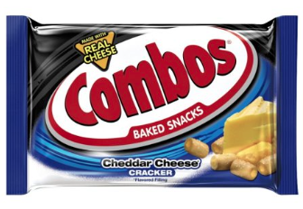 Combos Cheddar Cheese Baked Cracker 51gr  2Pack