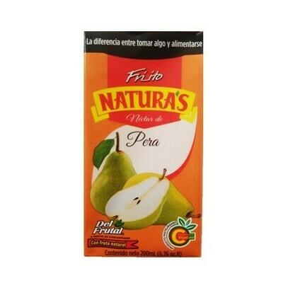 Jugo Minifriito Naturas Del Frutal Pera 200ml