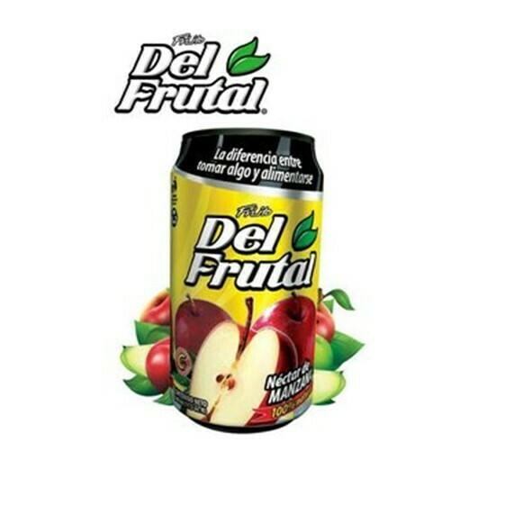 Jugo Lata Friito Del Frutal Manzana