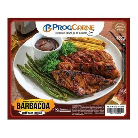 Carne de Cerdo para Asar Sabor Barbacoa 400gr