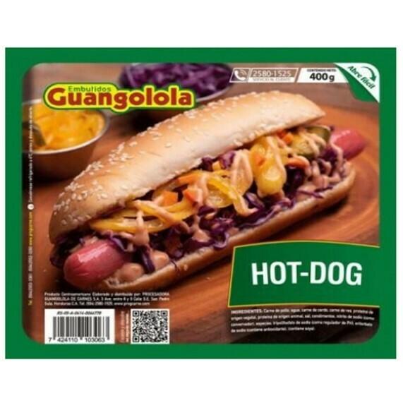 Hot Dog 400gr