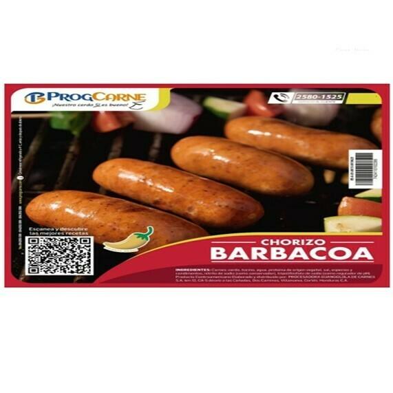 Chorizo de Cerdo Sabor Barbacoa 1,350g4