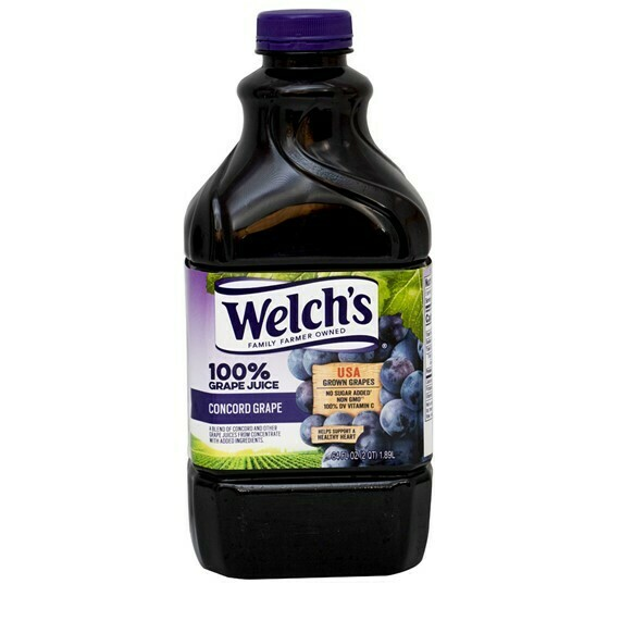 Jugo Welch´S Uva 100% 64oz  (1.89L)